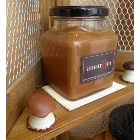 caramel fleur de sel façon pâte à tartiner