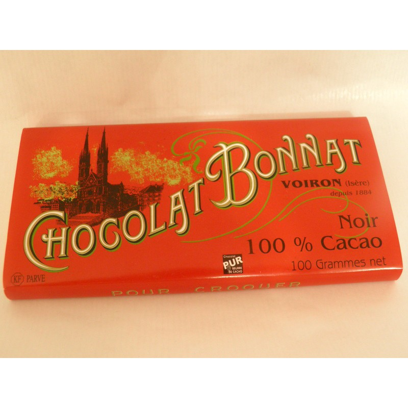 Tablette Bonnat 100% cacao
