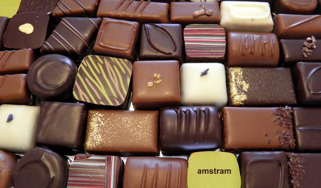 les chocolats assortis