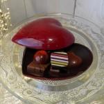 Bonbonnière tout chocolat grand modèle