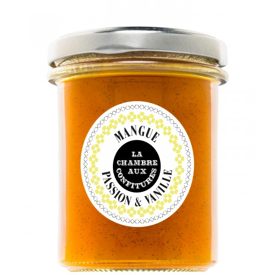 Confiture Mangue passion vanille Bio