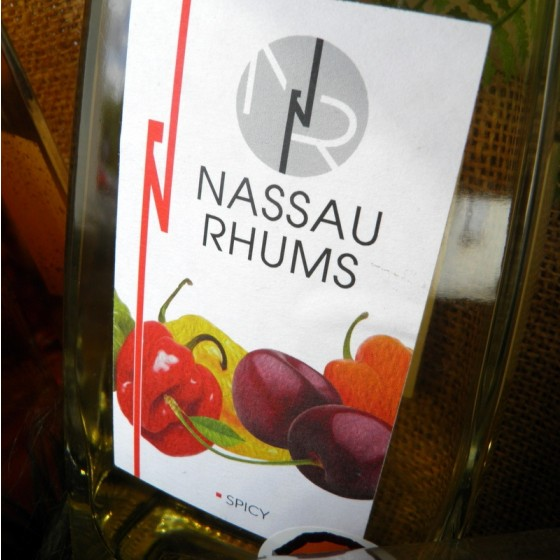 Rhum arrangé spicy griottes Nassau