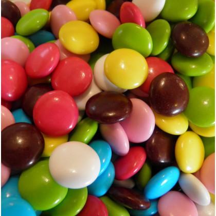 Dragées chocolat confetti 100 grammes