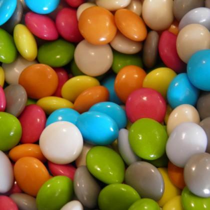 Dragées chocolat au lait mini confetti 100 grammes
