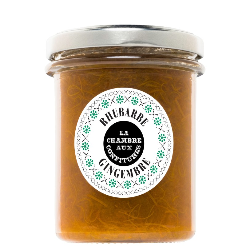 Confiture Rhubarbe gingembre